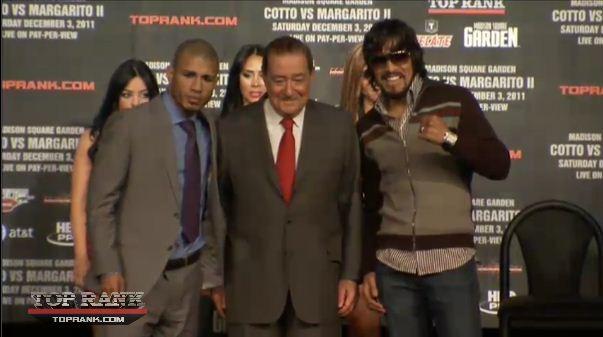 Cotto & Margarito Trade Heated Insults at Final NYC Press ...