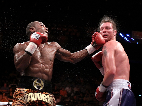 Tavoris Cloud dominates Clinton Woods for IBF 175 belt!
