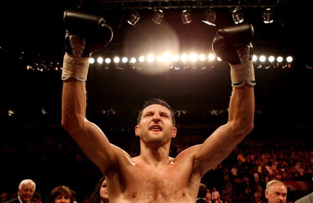 Carl Froch v Lucian Bute - IBF World Super Middleweight Title Fight