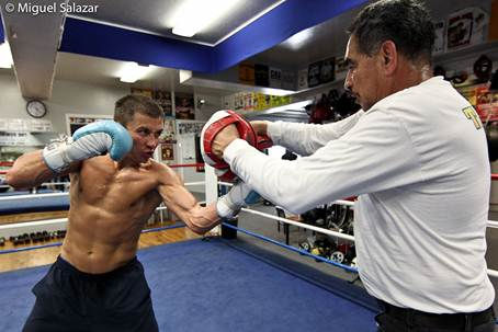 Golovkin_training