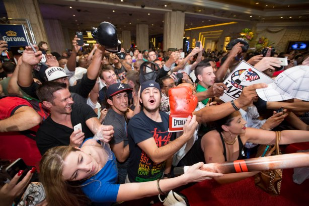 Fans at Grand Arrivals