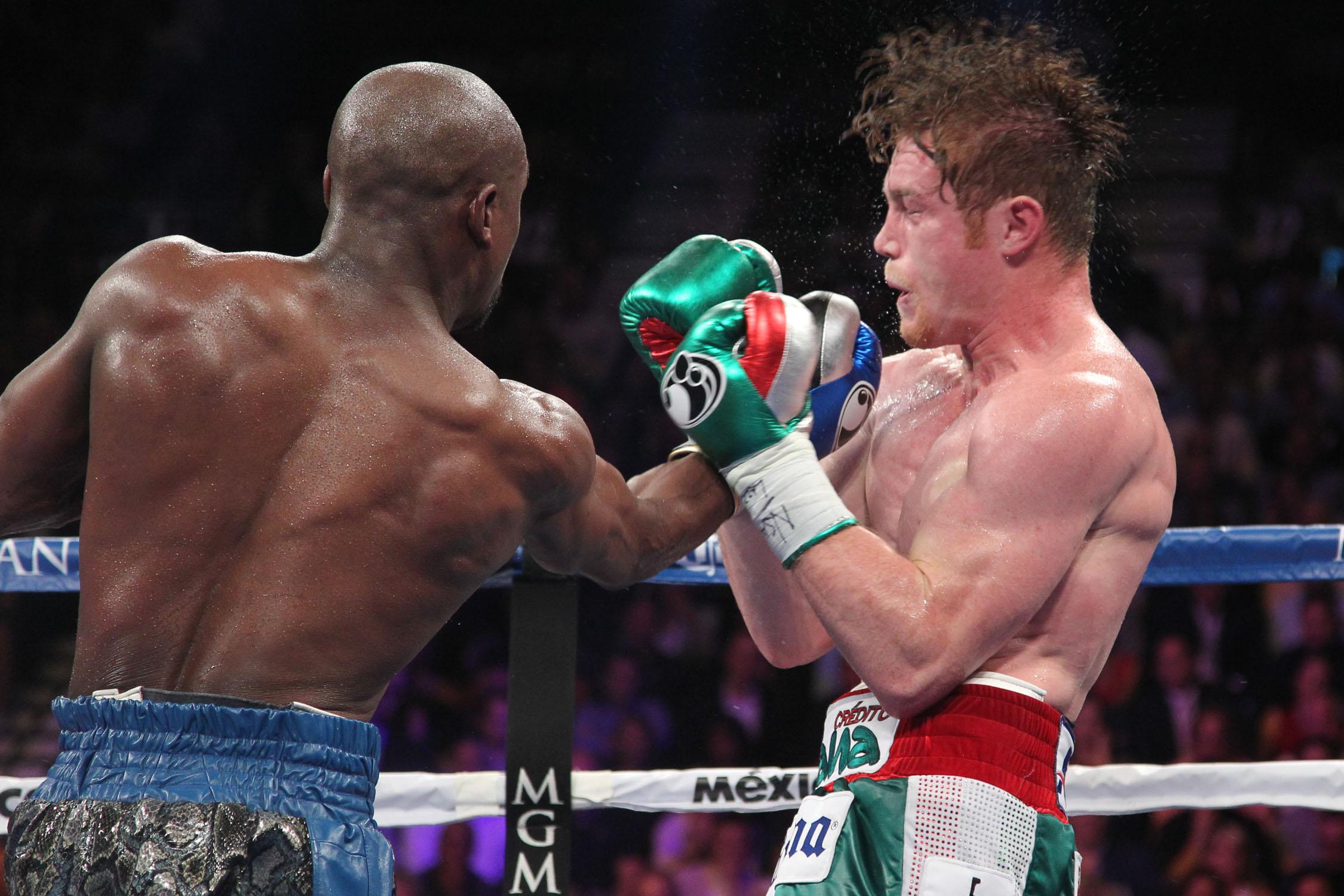 the money team beats boxing and mayhem