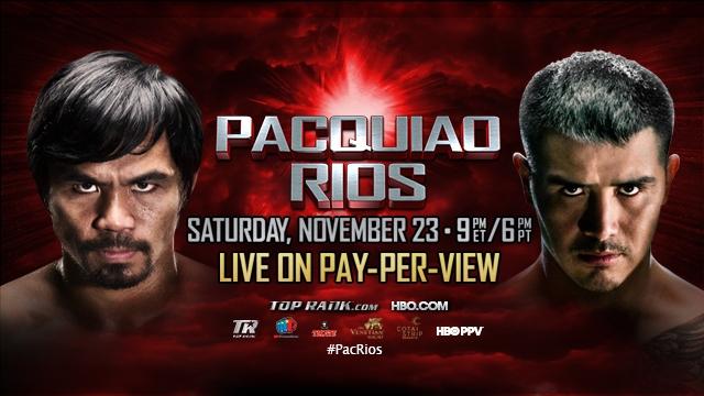 Pacquiao vs  Rios_poster