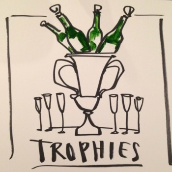 Drake_trophies