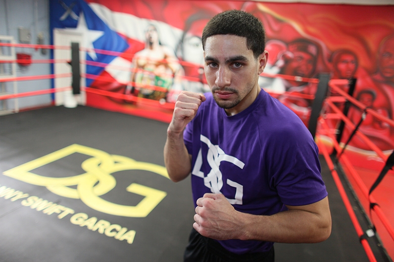 Danny Garcia Boxing Workout