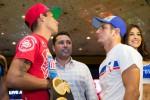 Johan Perez and Mauricio Herrera