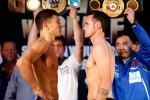 Gennady Golokin vs Daniel Geale weigh-in