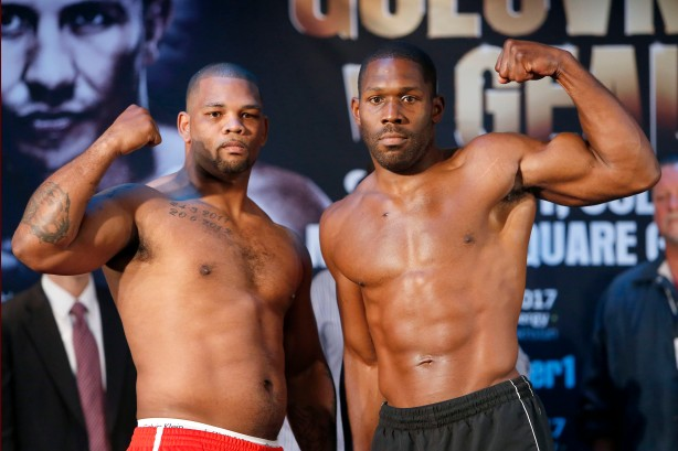 Mike Perez vs Bryant Jennings weigh-in
