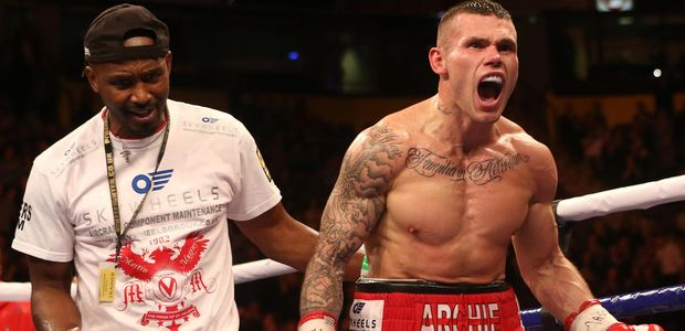 Boxing -  Interim WBA World Middleweight Title - Jorge Navarro v Martin Murray - Manchester Arena