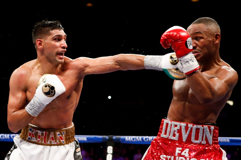 Amir Khan vs Devon Alexander