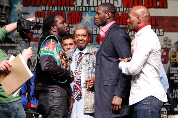Stiverne and Wilder face off