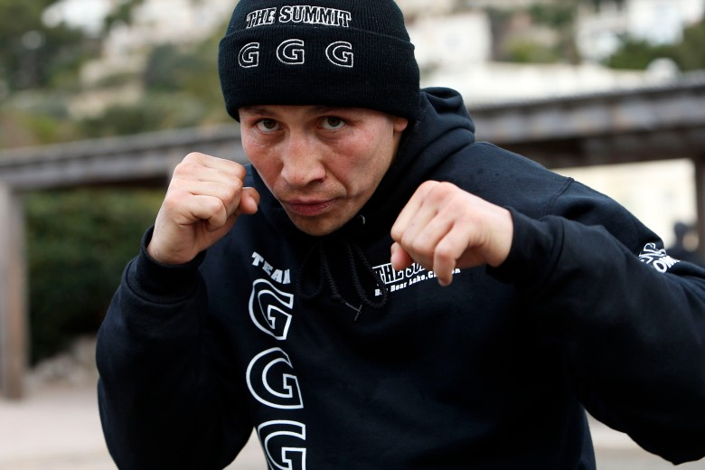 Gennady Golovkin (GGG) road work in Monaco