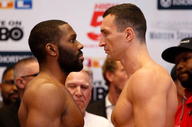Wladimir Klitschko vs Bryant Jennings Weigh-in