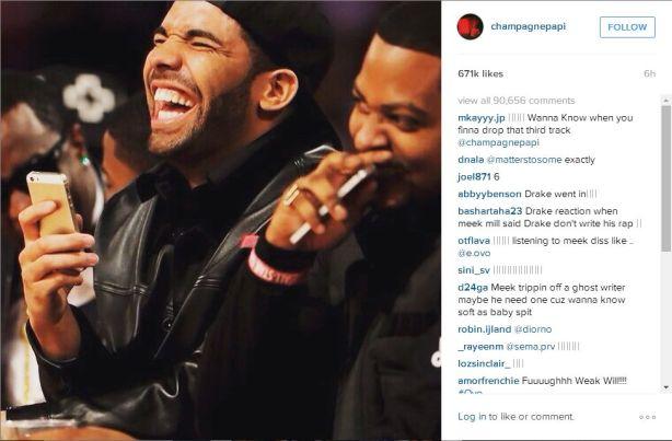 Drake_MeekMillresponse