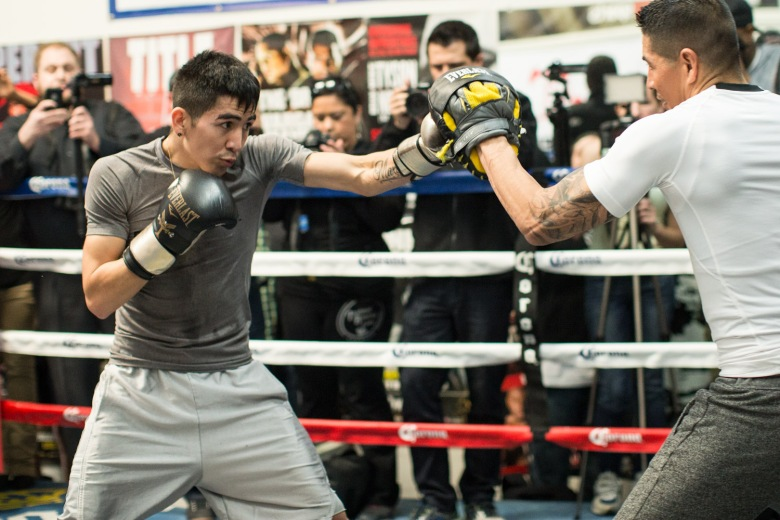 Leo Santa Cruz_Open Workout_008