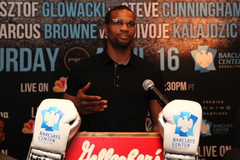 Browne - Spence_Algieri Press Confernece_Presser_Edward Diller _ Premier Boxing Champions