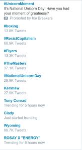 TrendingTopic