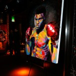 """""""LAS VEGAS, NV - MAY 06: A general view of atmosphere during Smile Design Gallery's """"The Art of Boxing"""" event at Hakkasan Las Vegas Restaurant and Nightclub at MGM Grand Hotel & Casino May 6, 2016 in Las Vegas. (Photo by Isaac Brekken/Getty Images for Smile Design Gallery)"""""""