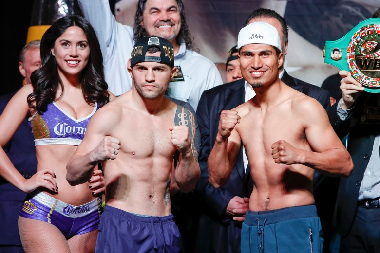 Dejan Zlaticanin and Mikey Garcia