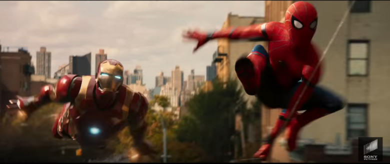 Spiderman_IronMan_Homecoming