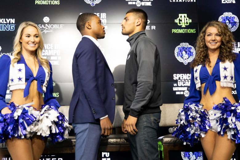 Errol Spence Jr and Carlos Ocampo